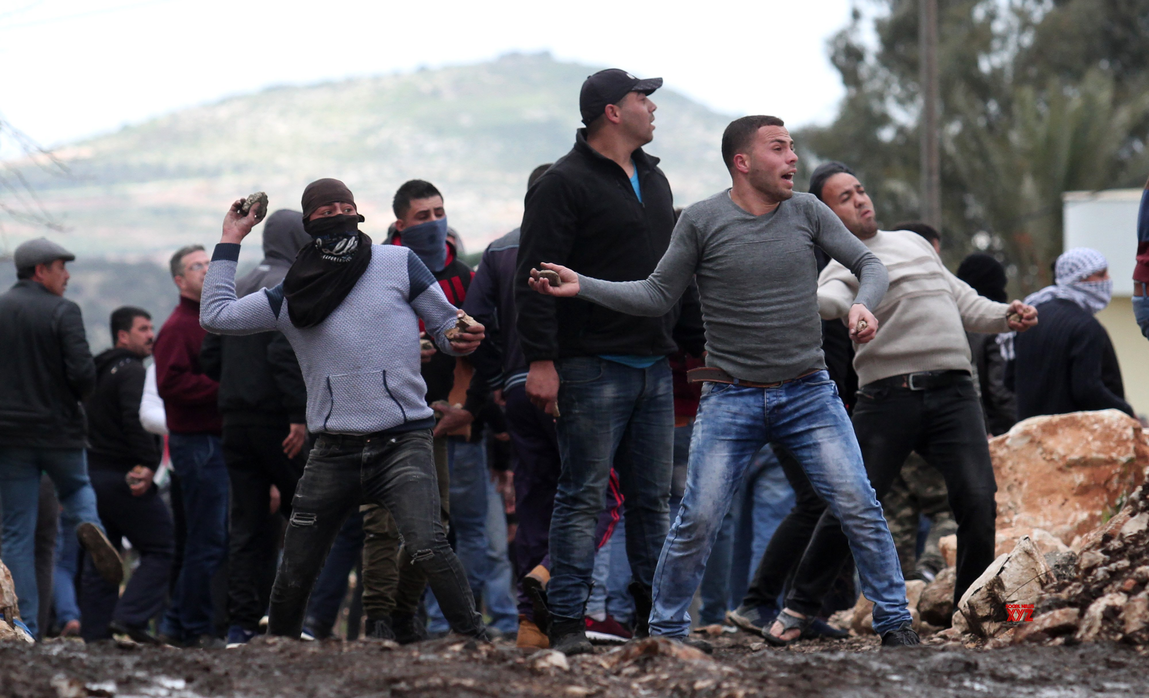 MIDEAST - NABLUS - CLASHES #Gallery