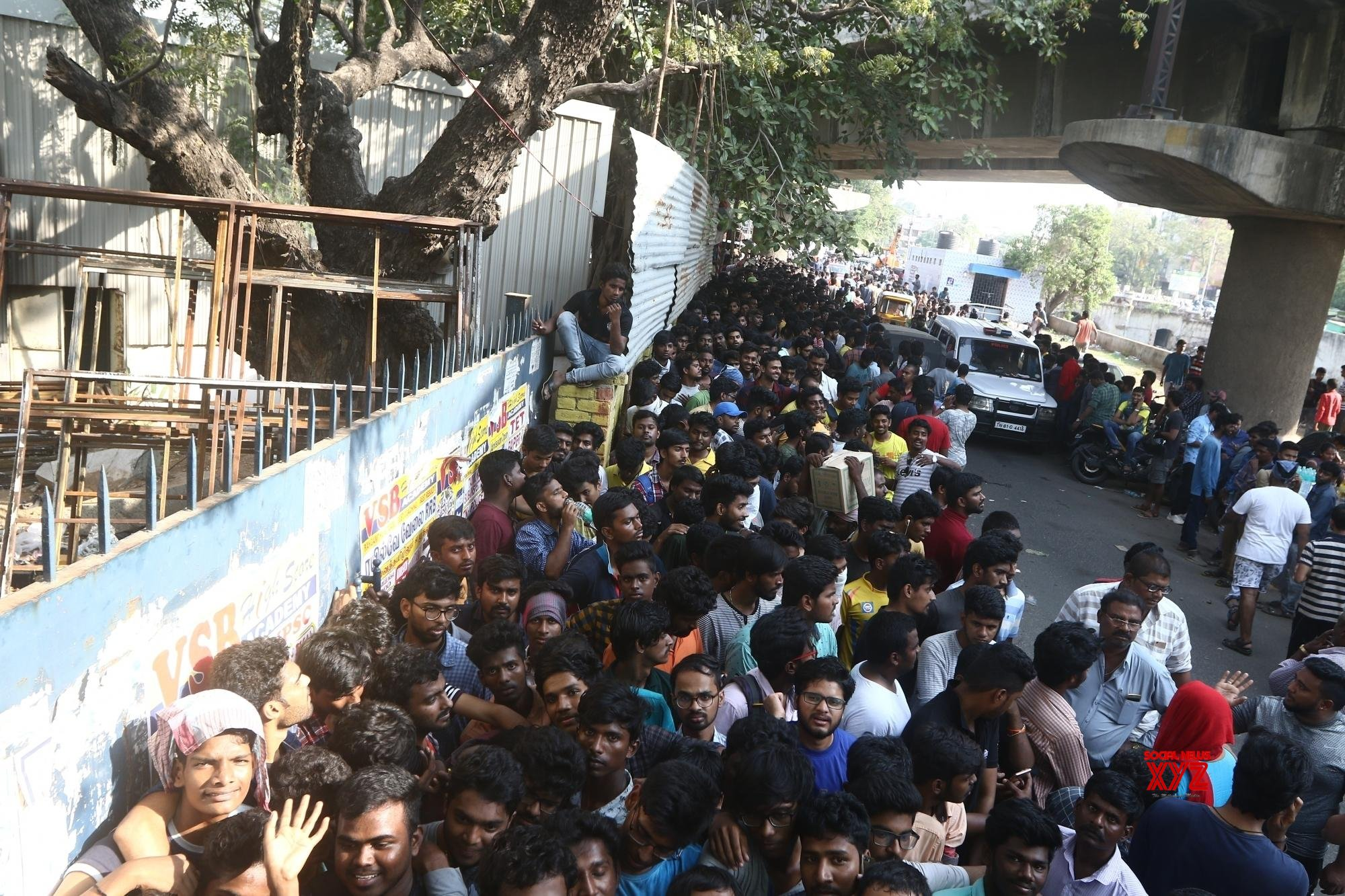 Chennai: IPL ticket sale (Batch - 1) #Gallery
