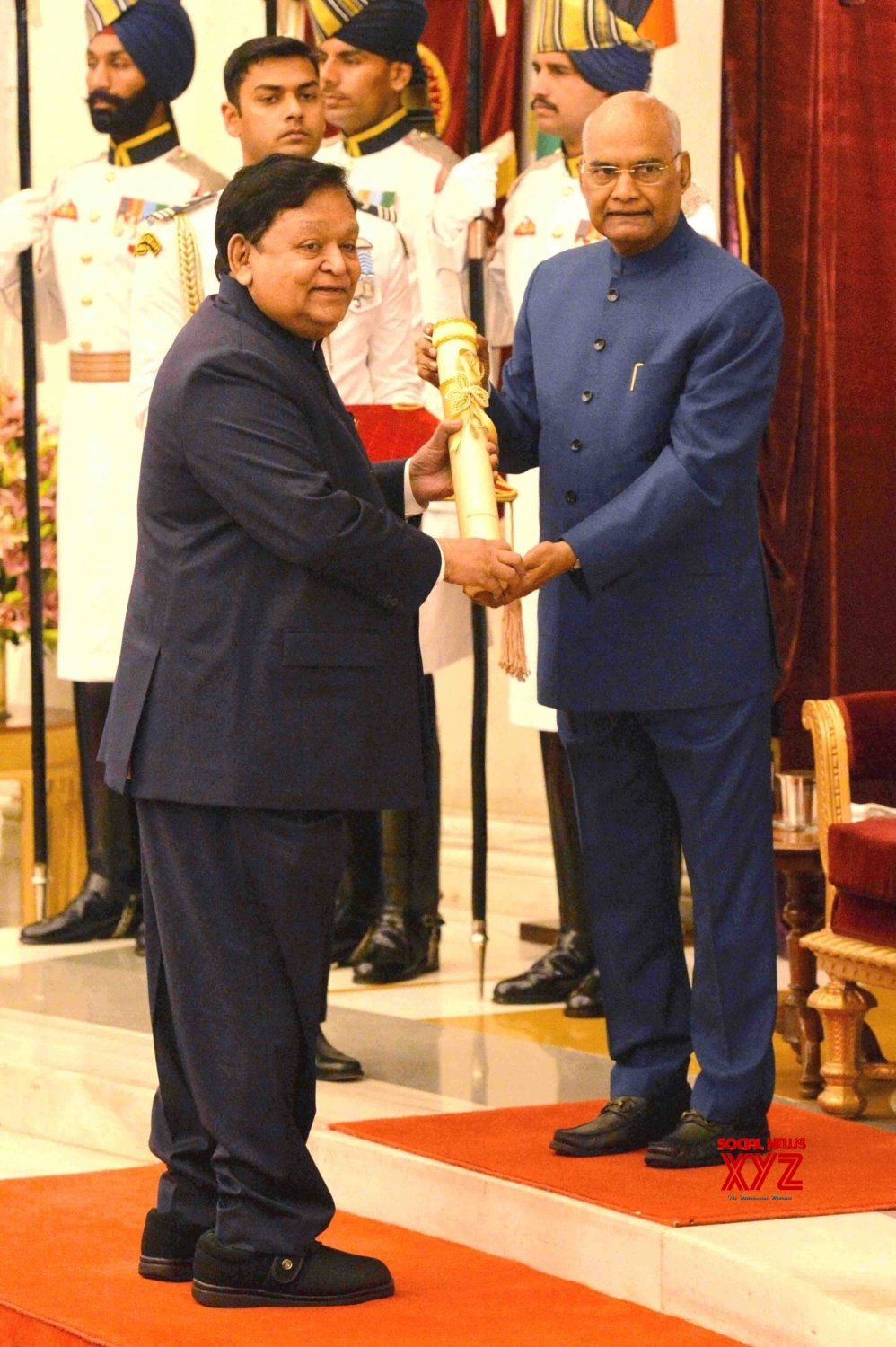 New Delhi: President Kovind presents Padma Awards - Anilkumar Manibhai Naik (Batch 15) #Gallery