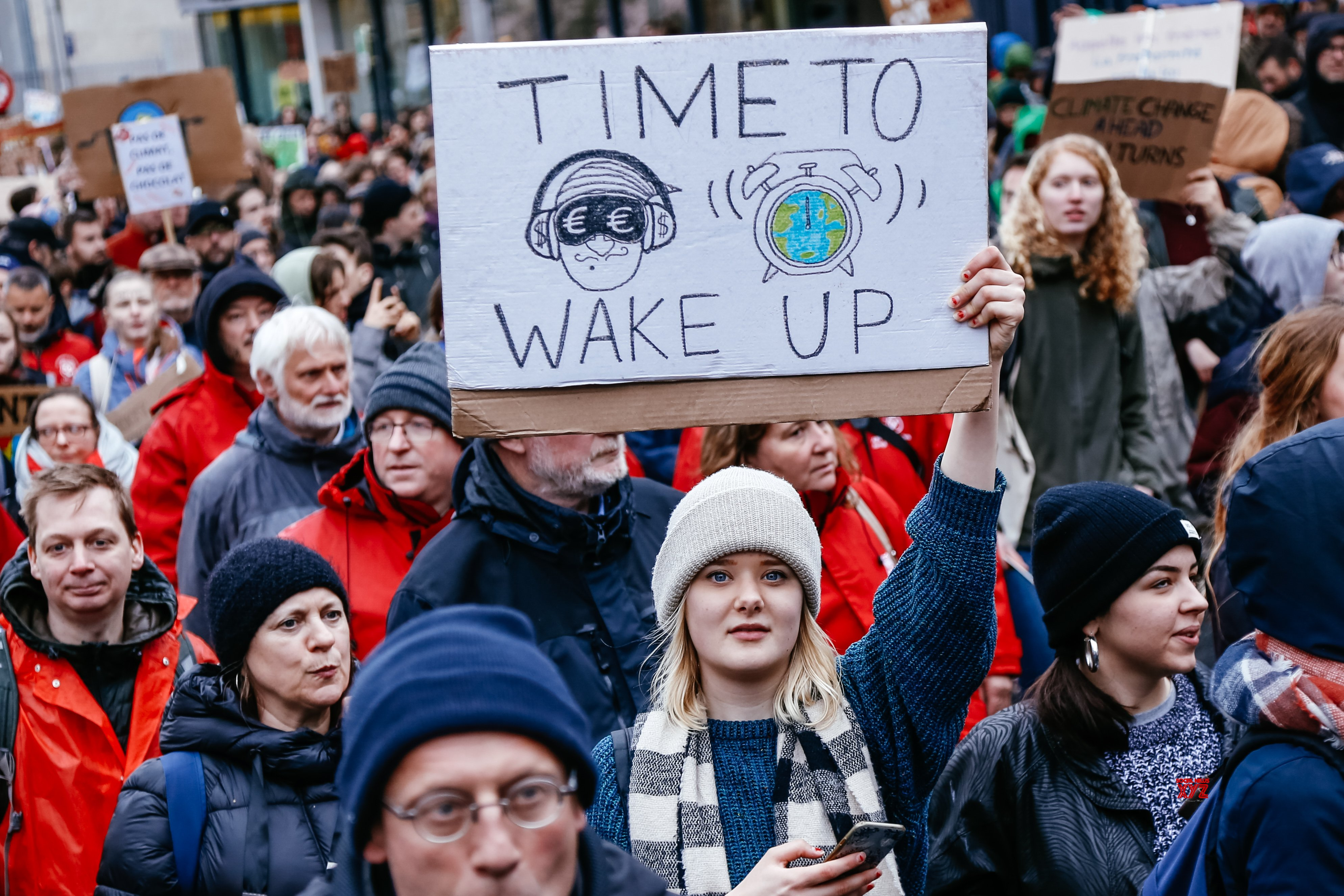 BELGIUM - BRUSSELS - CLIMATE - DEMONSTRATIONS #Gallery