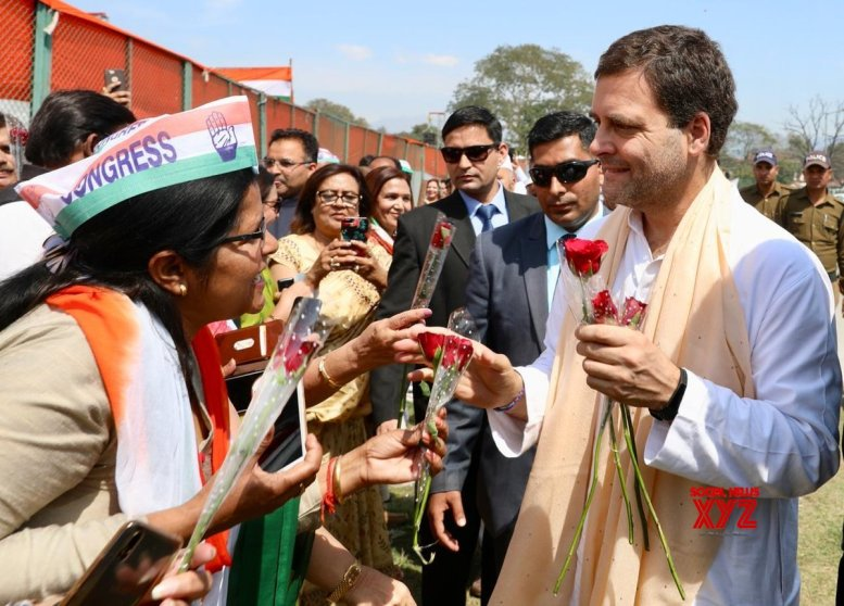 Rahul Gandhi mimics Modi at rally in Dehradun