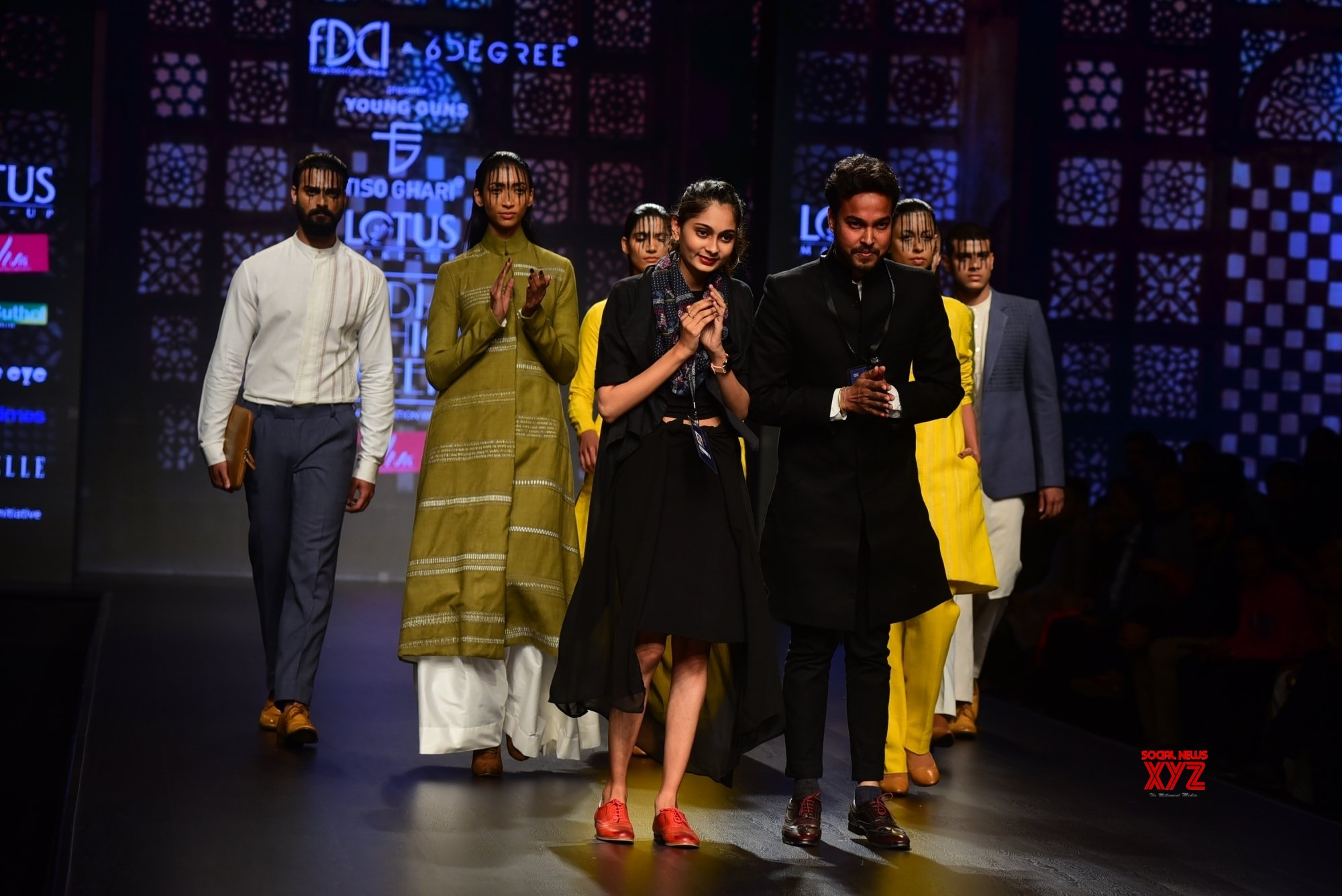 New Delhi: Lotus India Fashion Week - Day 4 - Tiso Ghari (Batch - 2) #Gallery