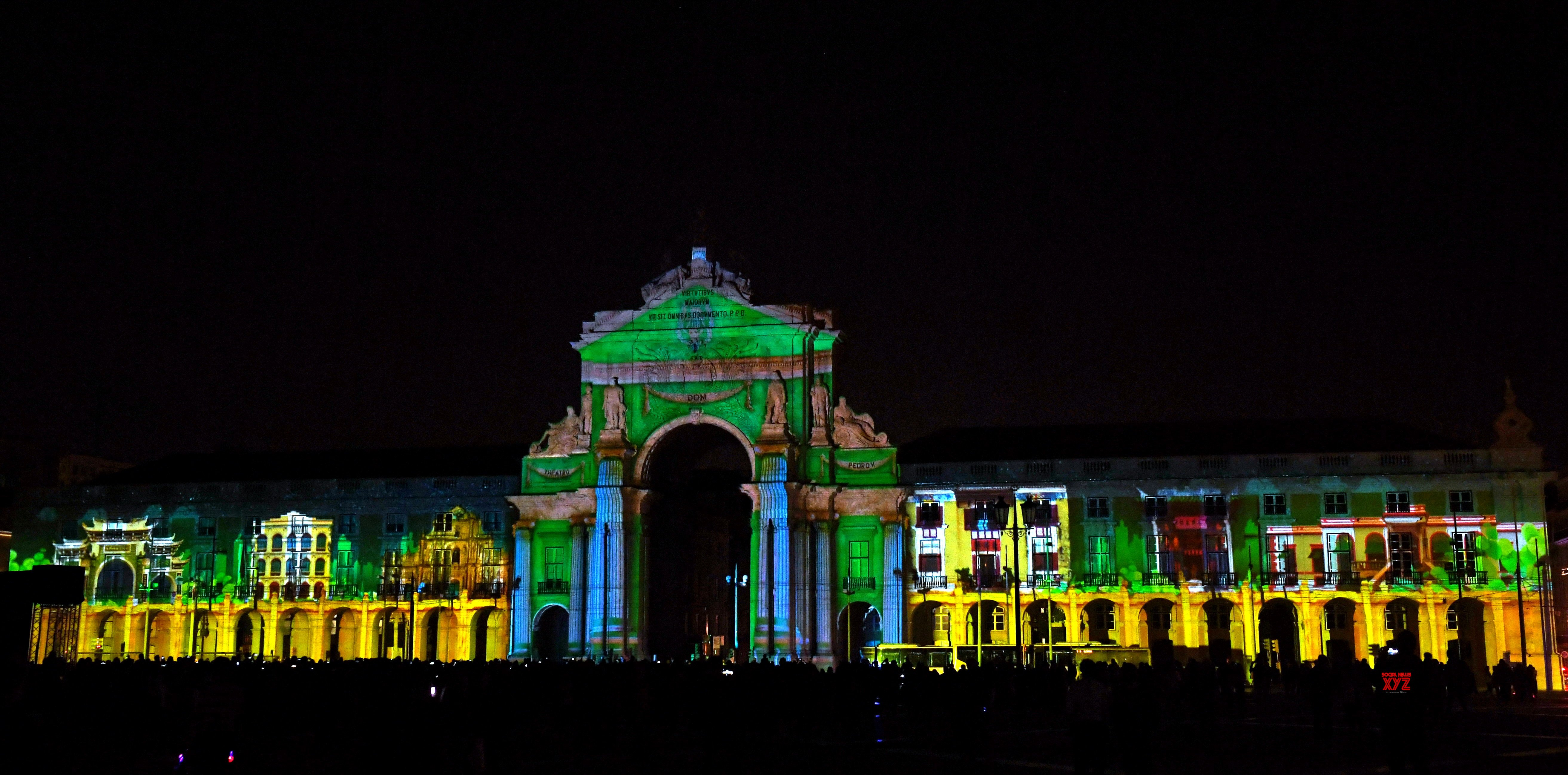 PORTUGAL - LISBON - CHINA'S MACAO - LIGHT SCULPTURE SHOW #Gallery