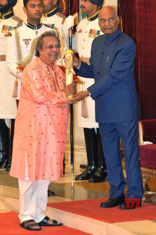 New Delhi: President Kovind presents Padma Awards - Swapan Chaudhuri #Gallery