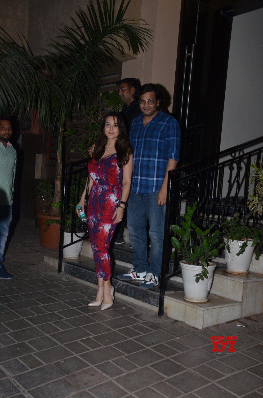 Mumbai: Priety Zinta, Mukesh Chhabra seen outside Sushant Singh Rajput's house #Gallery