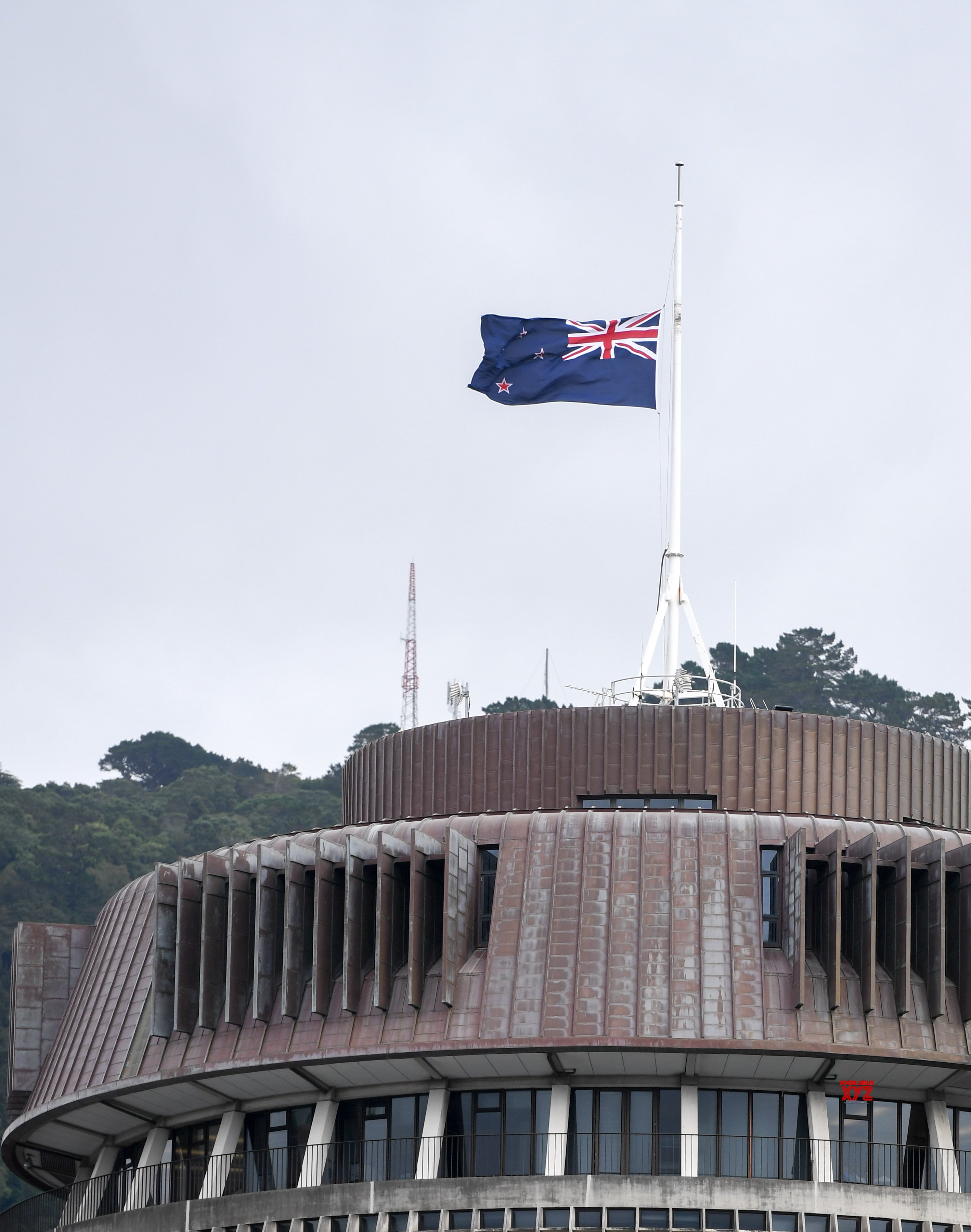 NEW ZEALAND - WELLINGTON - CHRISTCHURCH - ATTACKS - FLAG - HALF - MAST #Gallery