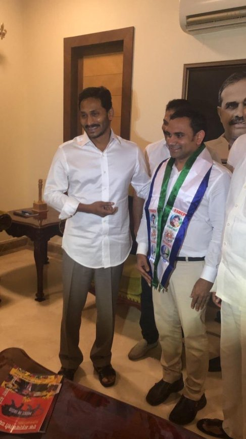 Once again Jagan is at his best at Poaching, Now from JanaSena