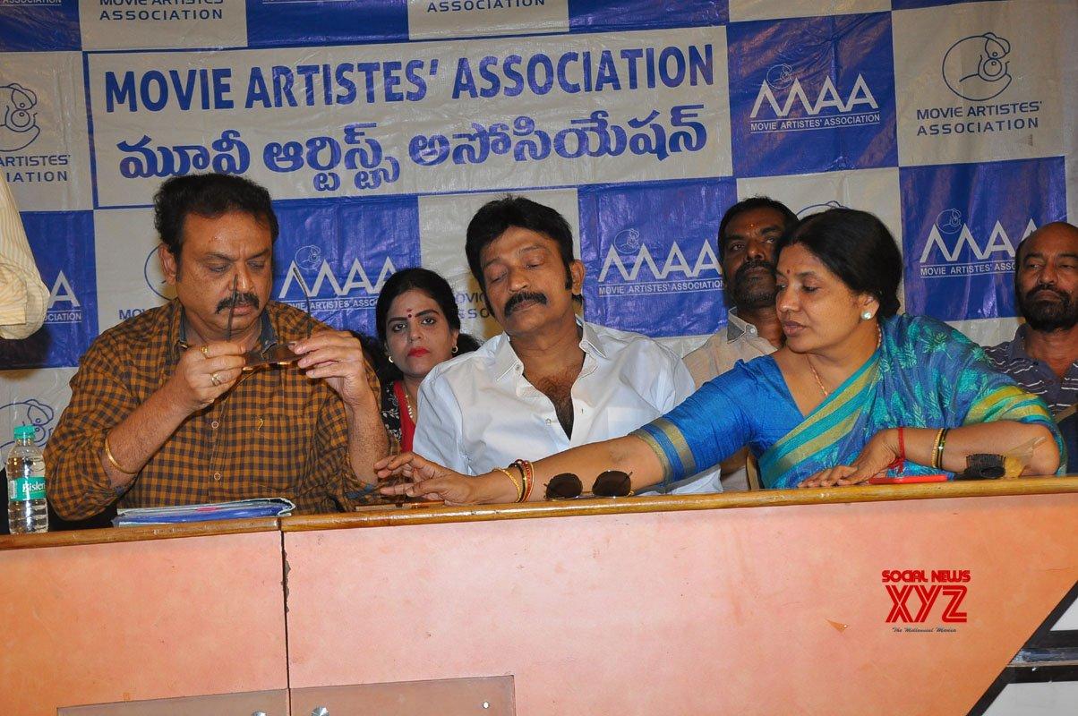 Movie Artists Association (MAA) New Panel Emergency Press Meet Gallery