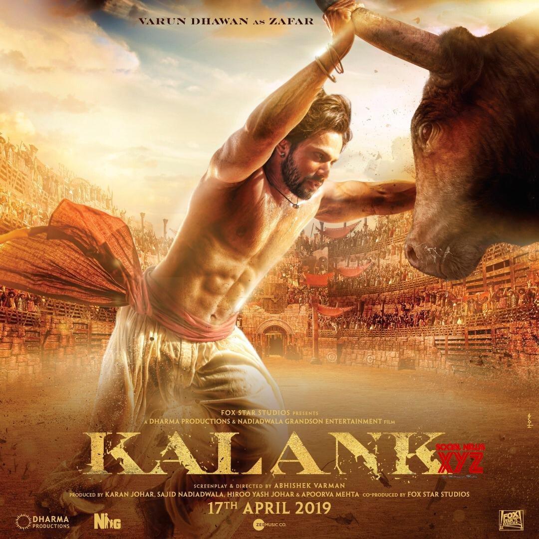 Varun Dhawan New Poster From Kalank