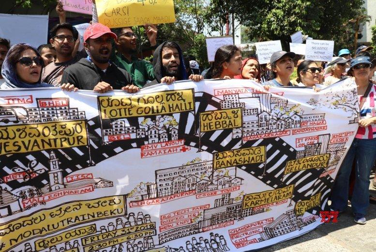 Bengaluru sees protest against elevated corridor