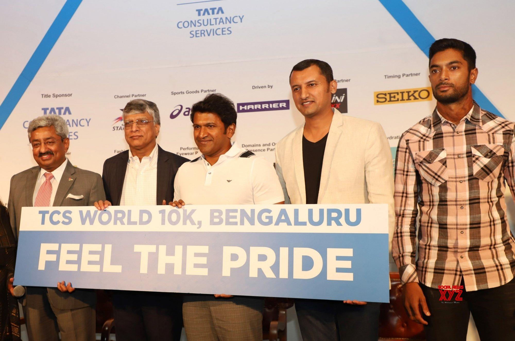 Bengaluru: Launch of TCS World 10K #Gallery