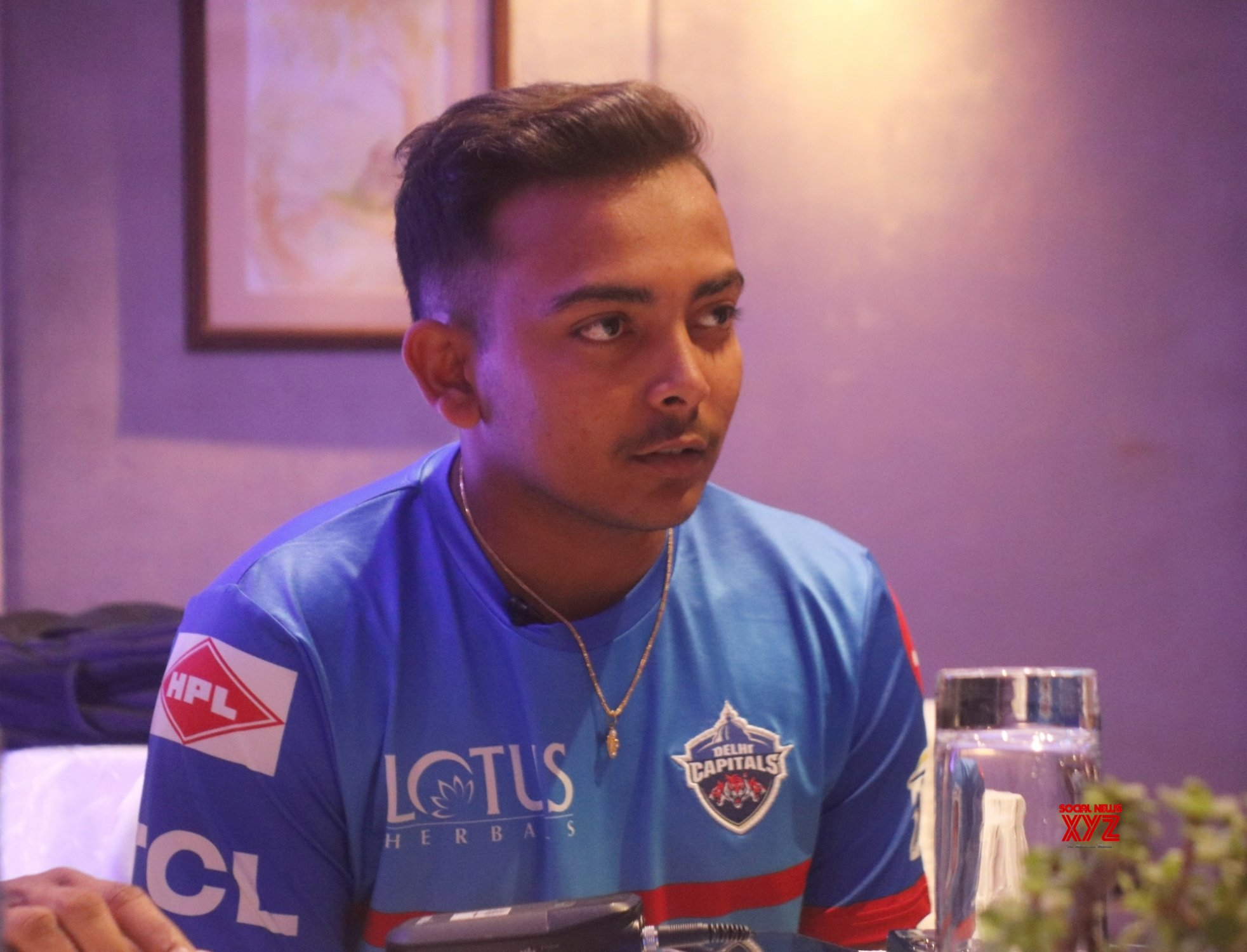 New Delhi: Delhi Capitals press conference - Prithvi Shaw, Ishant Sharma #Gallery