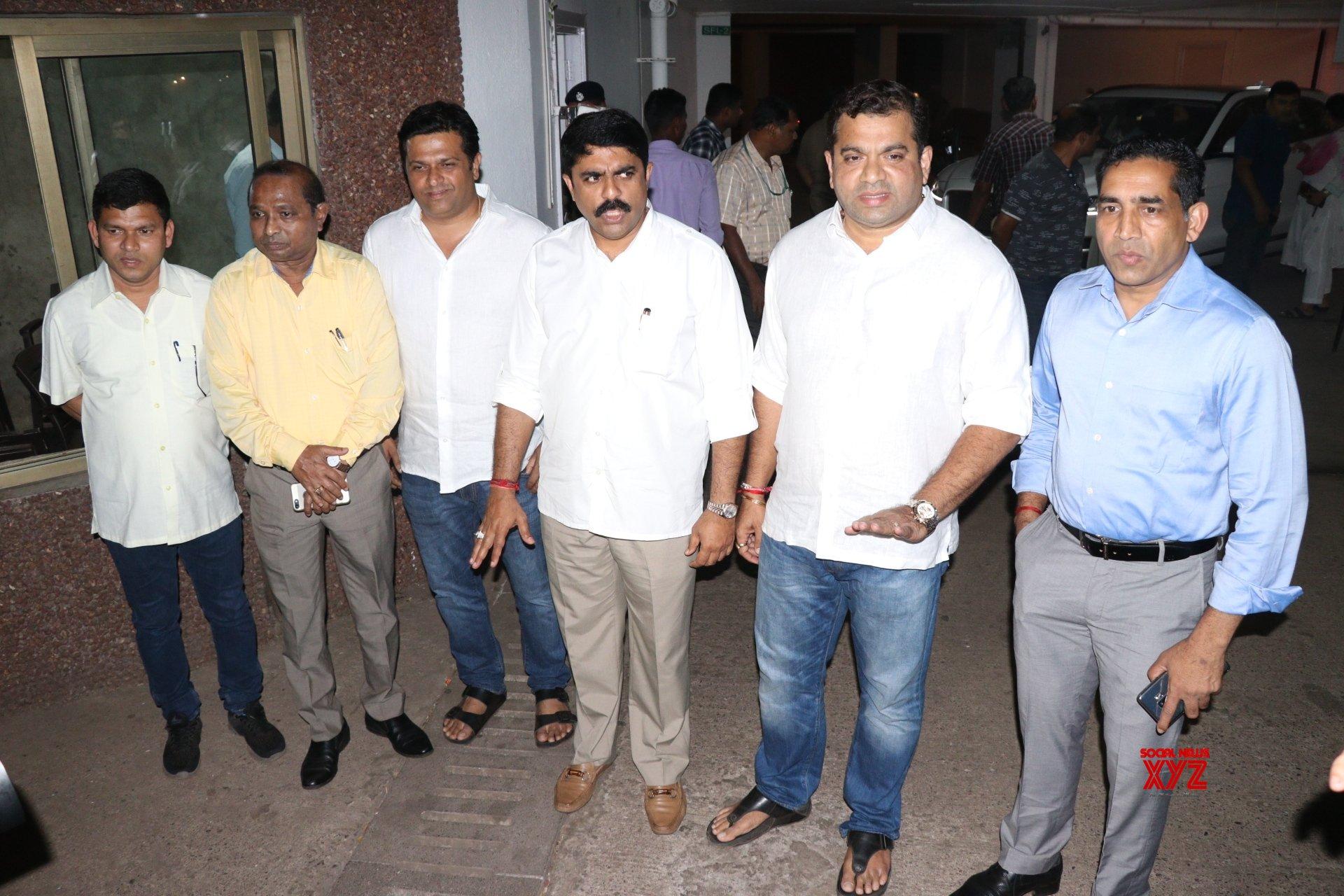 Panaji: Goa legislators meet Manohar Parrikar #Gallery