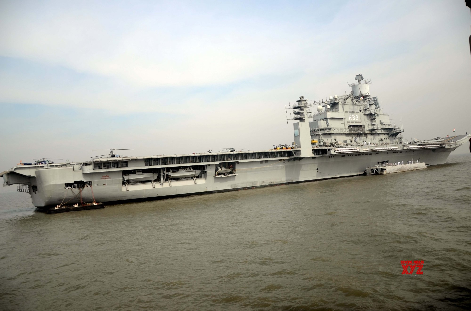 Aircraft carrier, nuke sub used to deter Pakistan