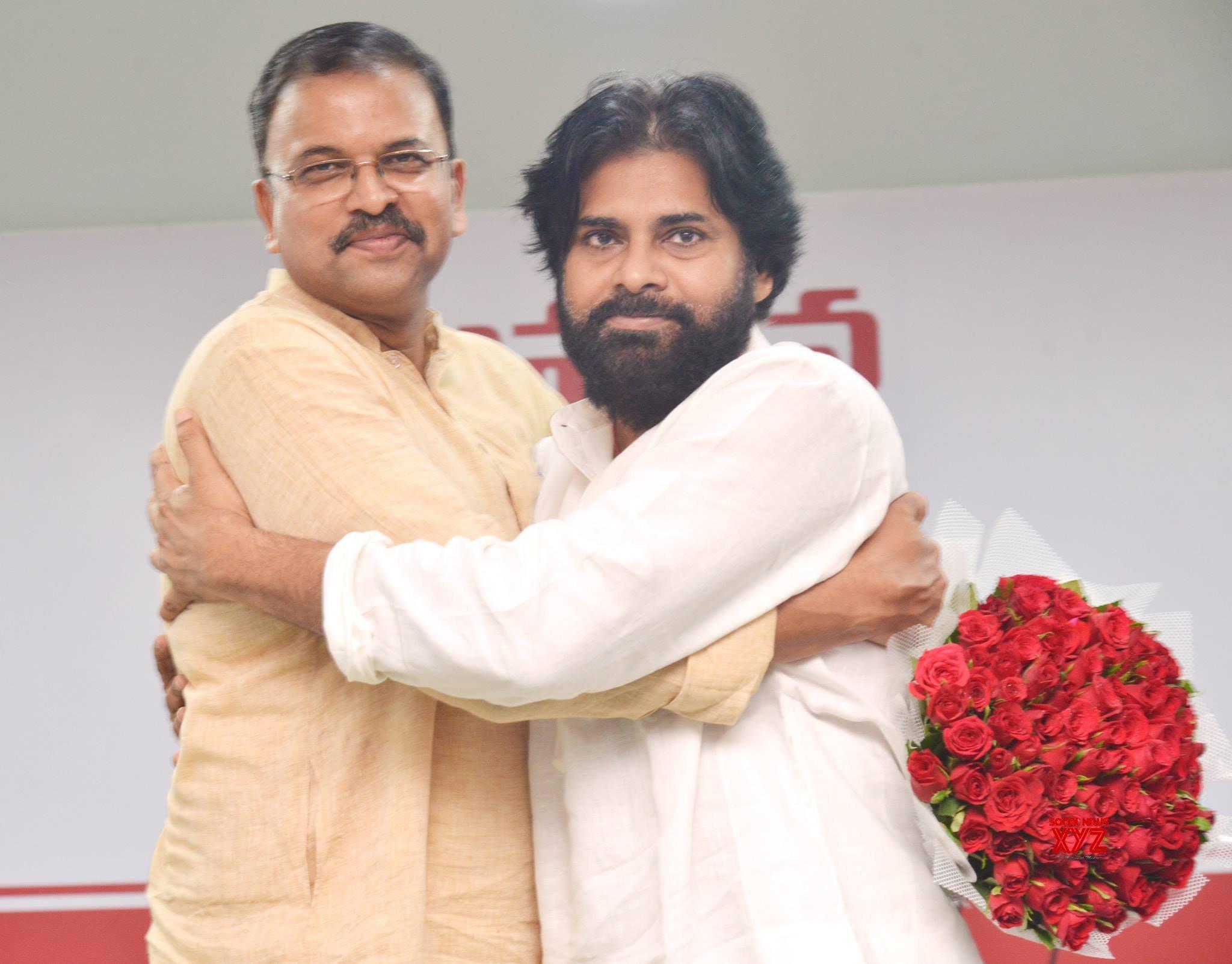 Ex CBI JD Lakshmi Narayana Joining Pawan Kalyan's JanaSena Party Gallery