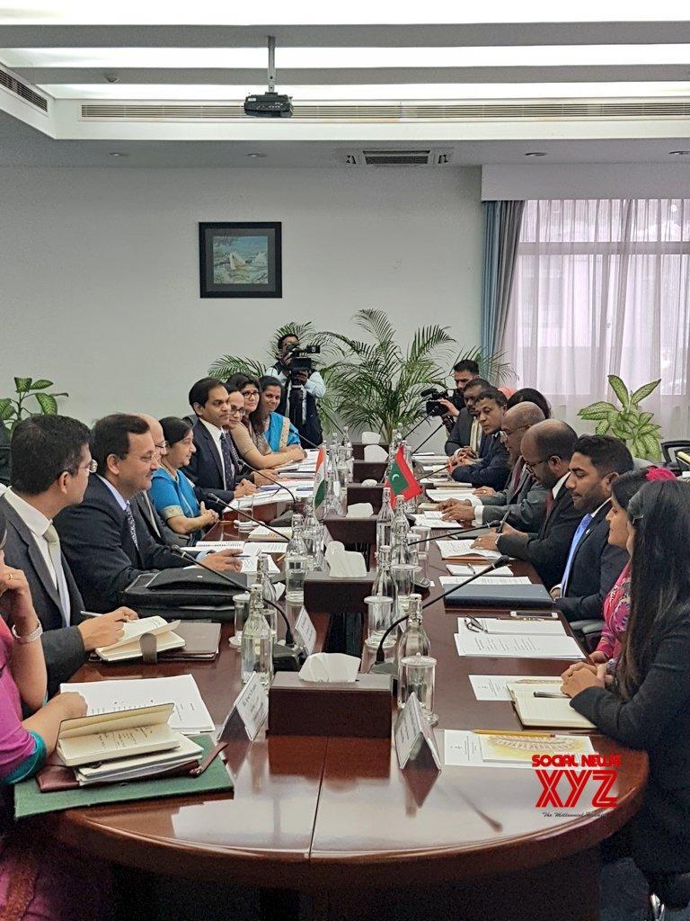 Maldives: Bilateral talks and Joint Ministerial meeting - Sushma Swaraj, Abdulla Shahid (Batch - 2) #Gallery