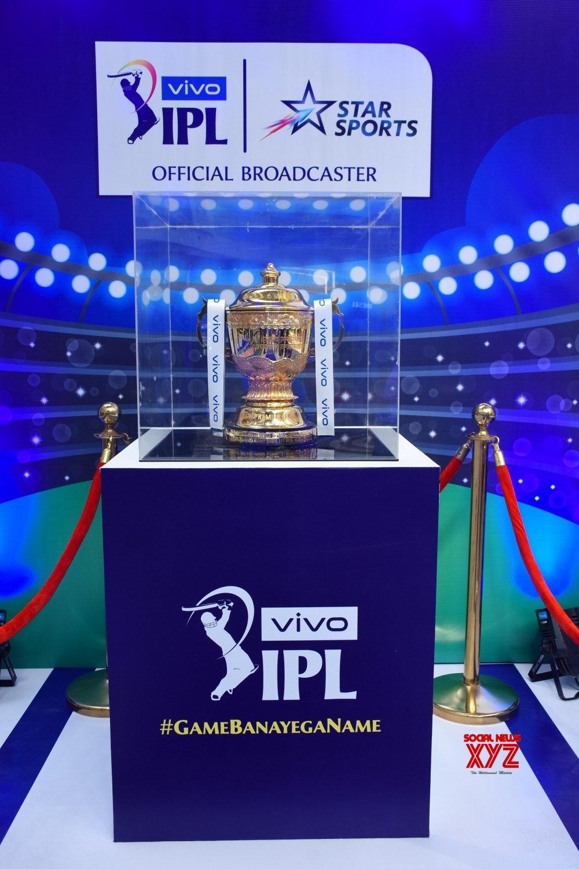New Delhi: IPL 2019 Trophy #Gallery