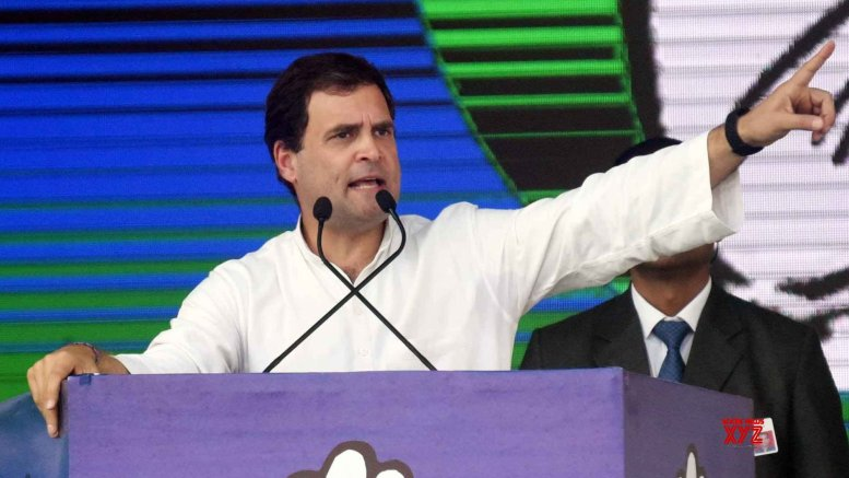 Rahul warns 'those who run rough shod' over Tamil culture