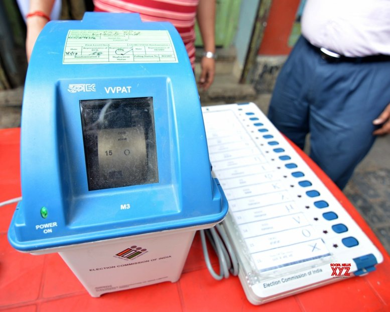 Congress crying foul over EVMs due to frustration: BJP