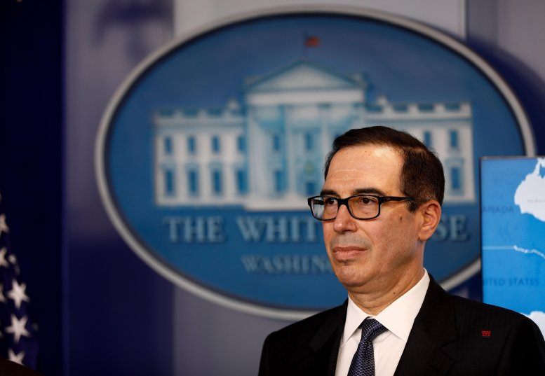 Mnuchin rejects subpoena for Trump's tax returns