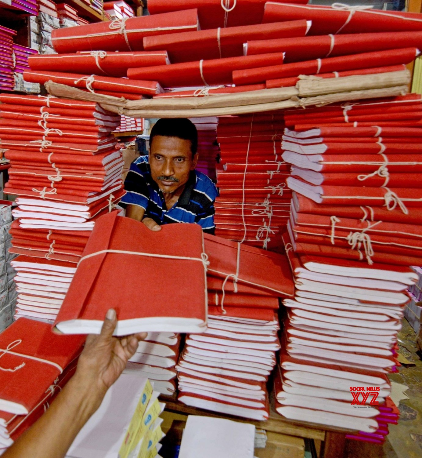 Kolkata: Ledger books being sold ahead of Bengali New Year #Gallery