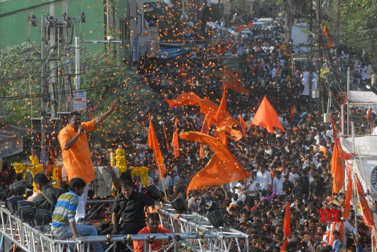 Row over Hyderabad BJP MLA 'copying' Pakistani song
