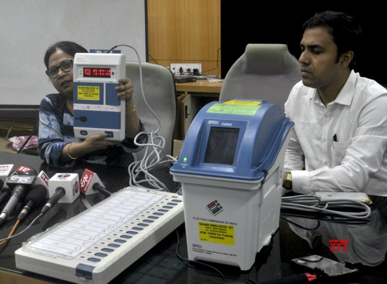 BJP contestant wants to put his lock on EVM strong rooms