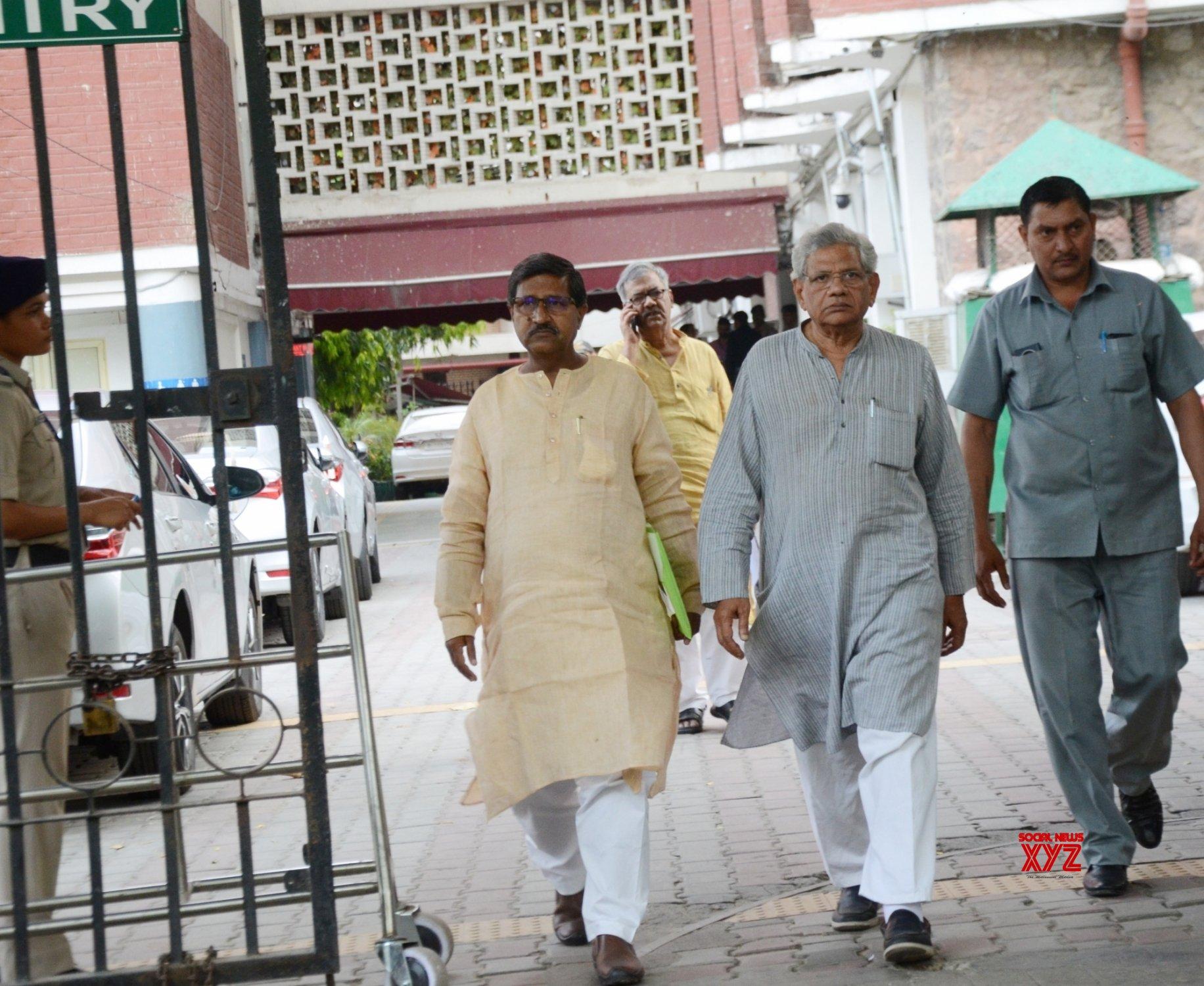 New Delhi: Sitaram Yechury meets Chief Election Commissioner #Gallery