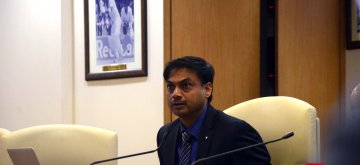 Mumbai: BCCI Selection Committee Chairman MSK Prasad at a press conference to announce the Indian squad for Asia Cup 2018, at BCCI Head Office in Mumbai on Sept 1, 2018. (Photo: IANS)