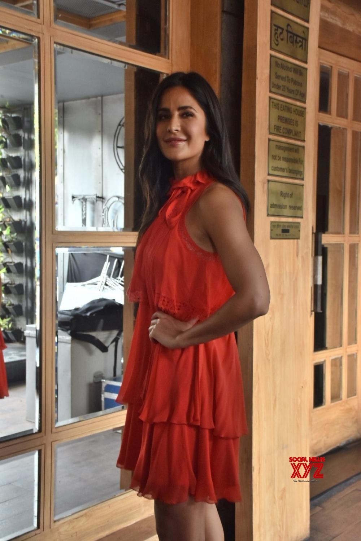 "Mumbai: Katrina Kaif at Arbaaz Khan's talk show ""Pinch"" sets #Gallery"