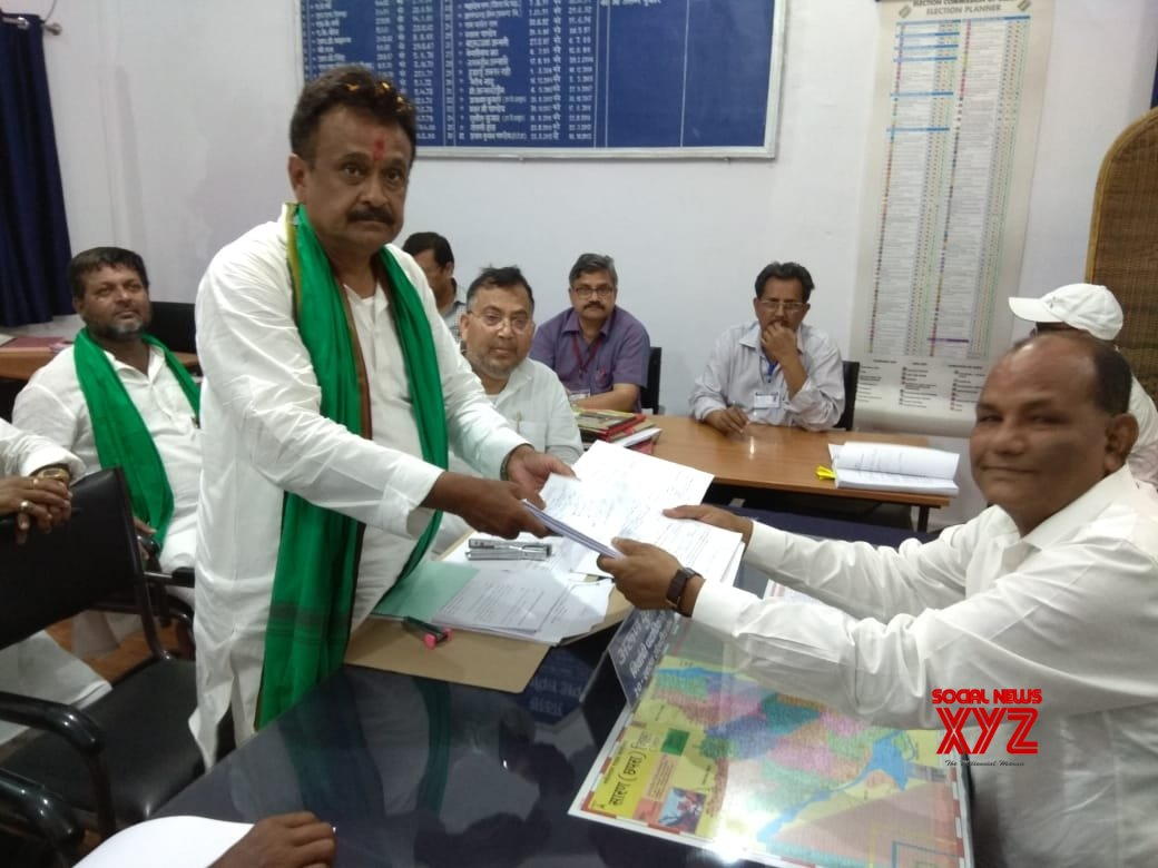 Saran (Bihar): 2019 Lok Sabha elections - Chandrika Rai files nomination #Gallery