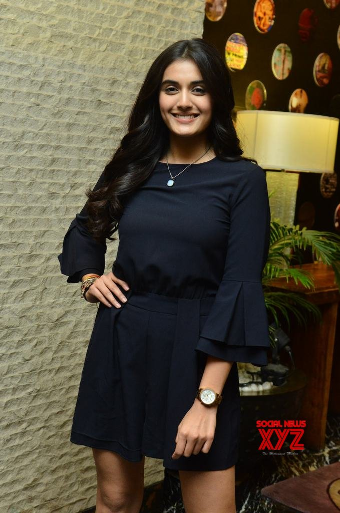 Actress Divyansha Kaushik Stills From Majili Movie Success Celebrations