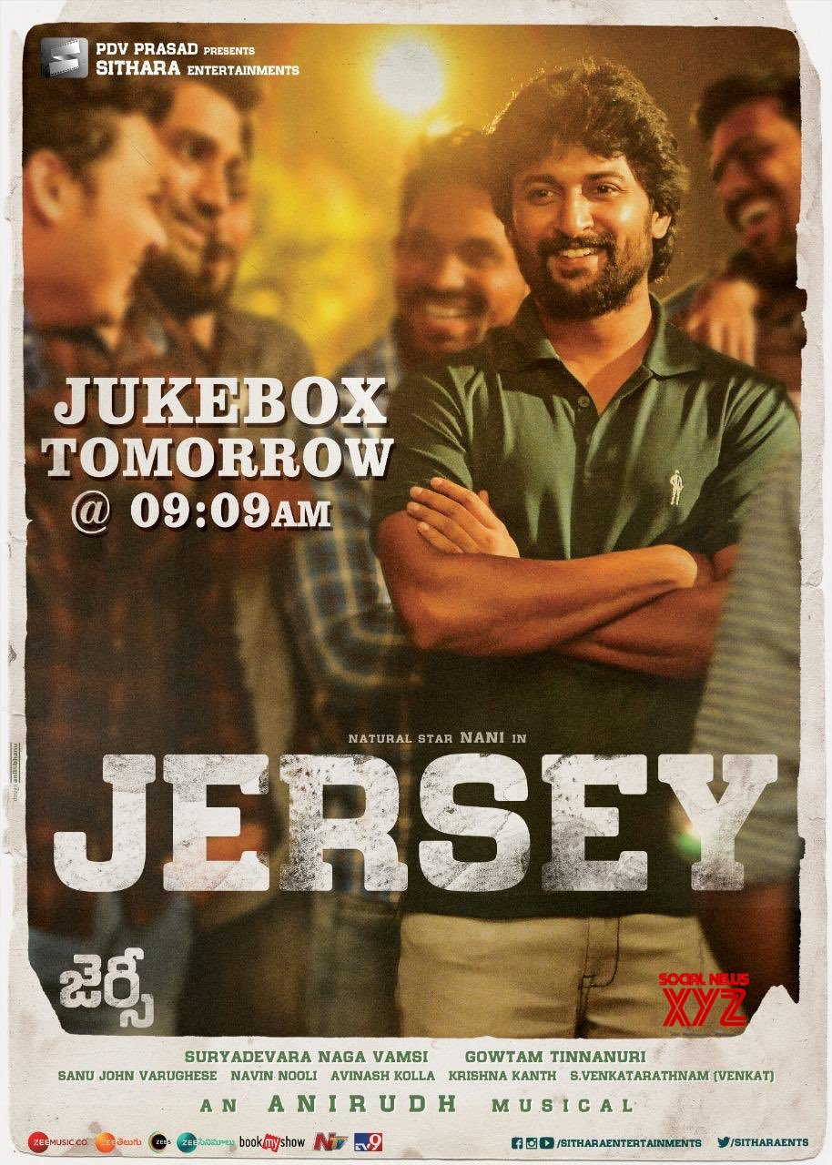 JERSEY Jukebox Will Be Out Tomorrow Morning At 09:09 AM