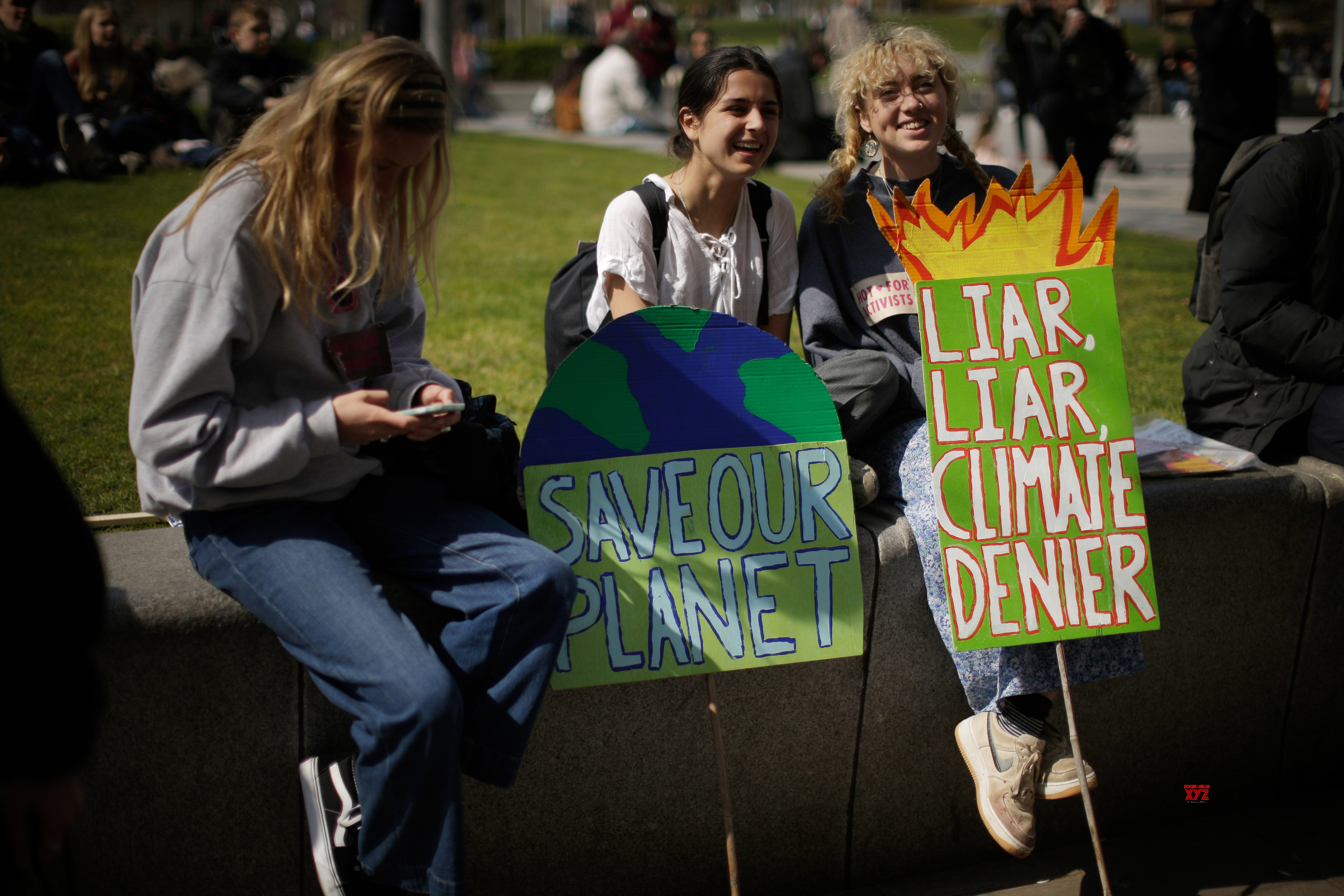 BRITAIN - LONDON - CLIMATE CHANGE - PROTEST #Gallery