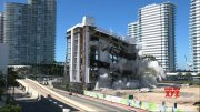 Miami's old South Shore hospital imploded  (Video)