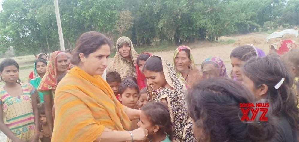 Supaul (Bihar): 2019 Lok Sabha elections - Congress' Ranjeet Ranjan during poll campaign #Gallery