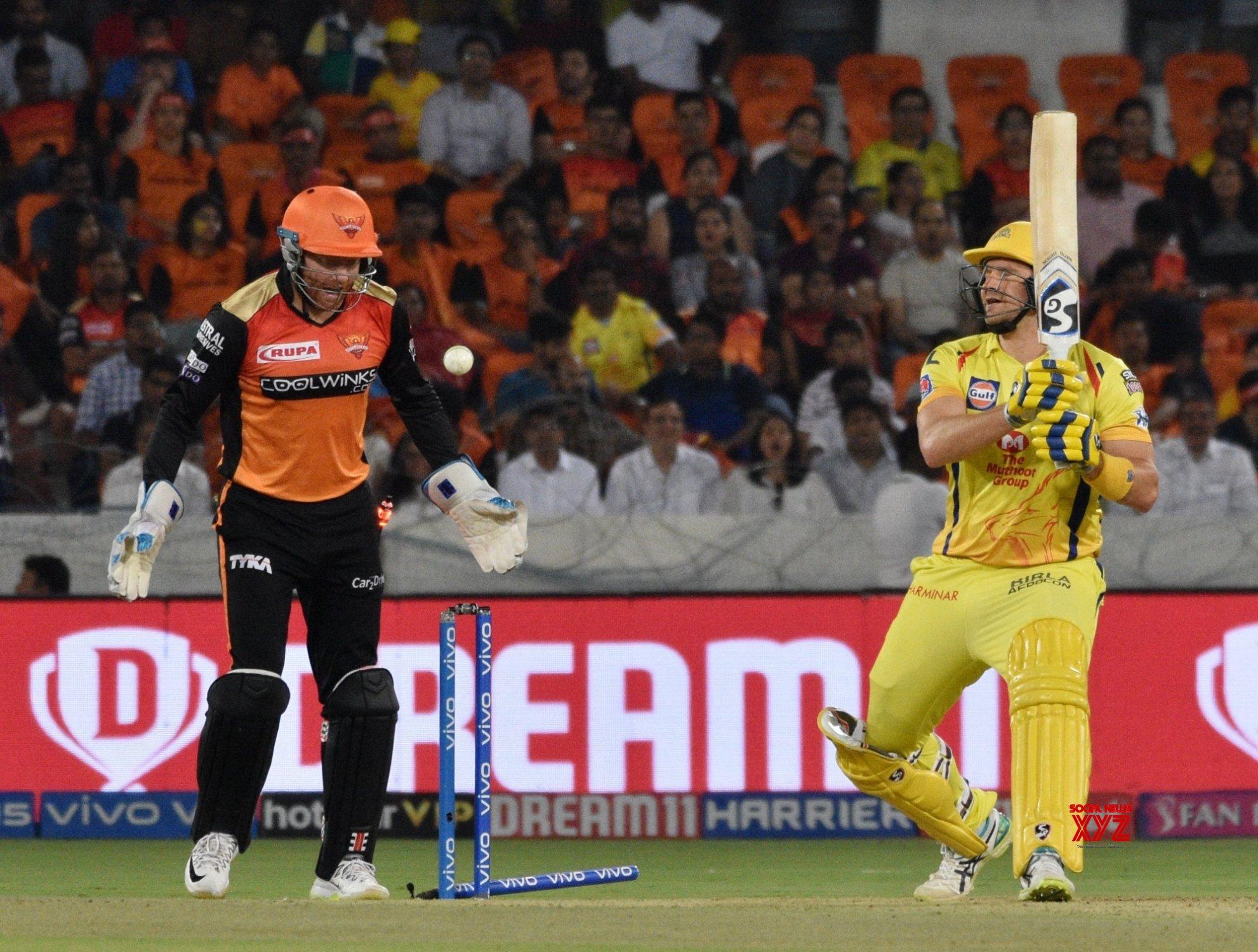 Hyderabad: IPL 2019 - Match 33 - Sunrisers Hyderabad Vs Chennai Super Kings (Batch - 16) #Gallery
