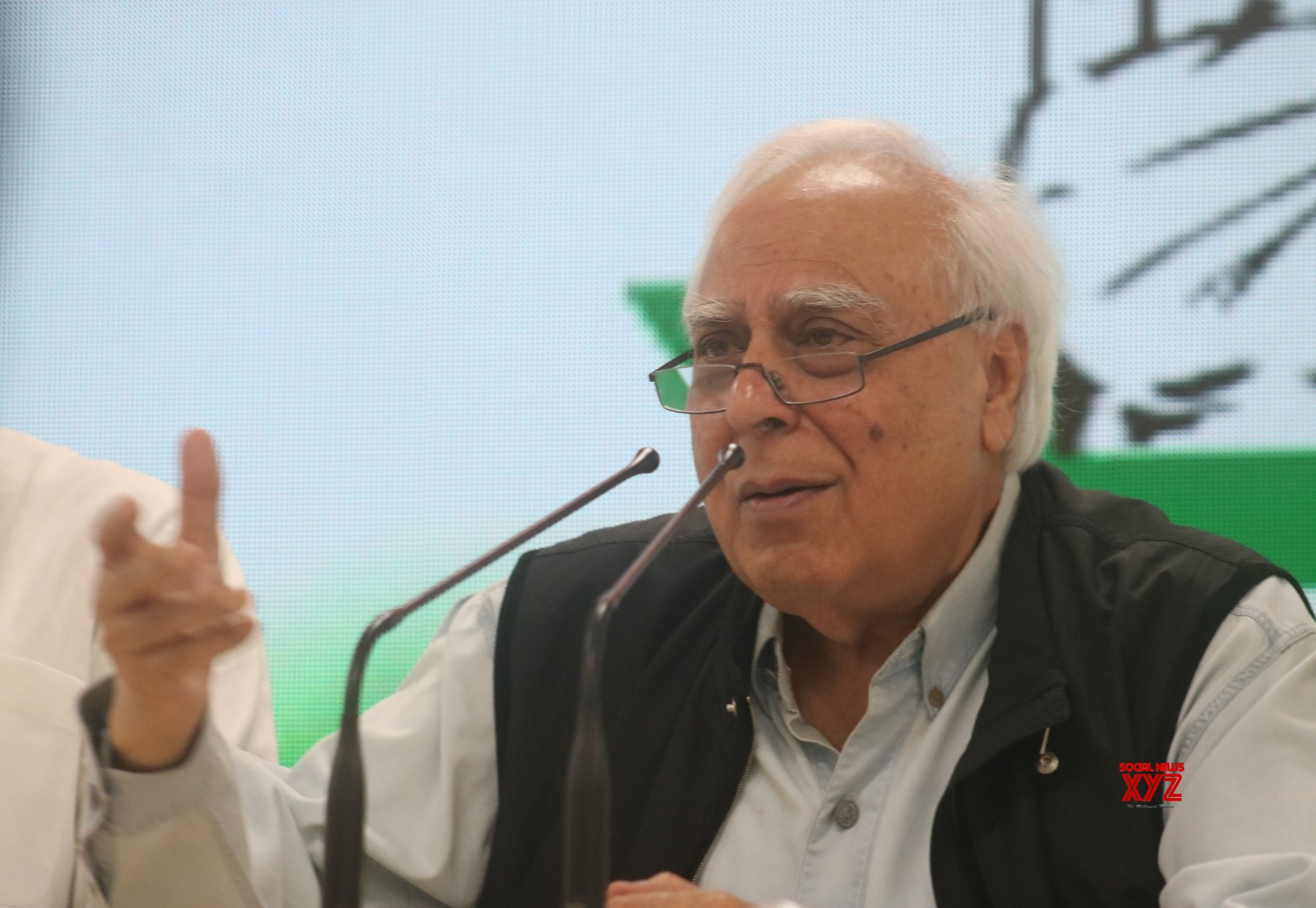 New Delhi: Kapil Sibal's press conference #Gallery