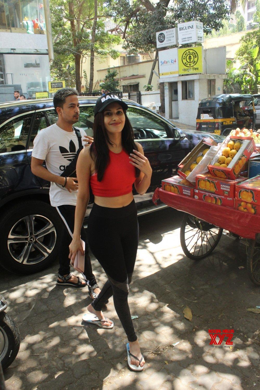Mumbai: Amyra Dastur seen at Bandra #Gallery