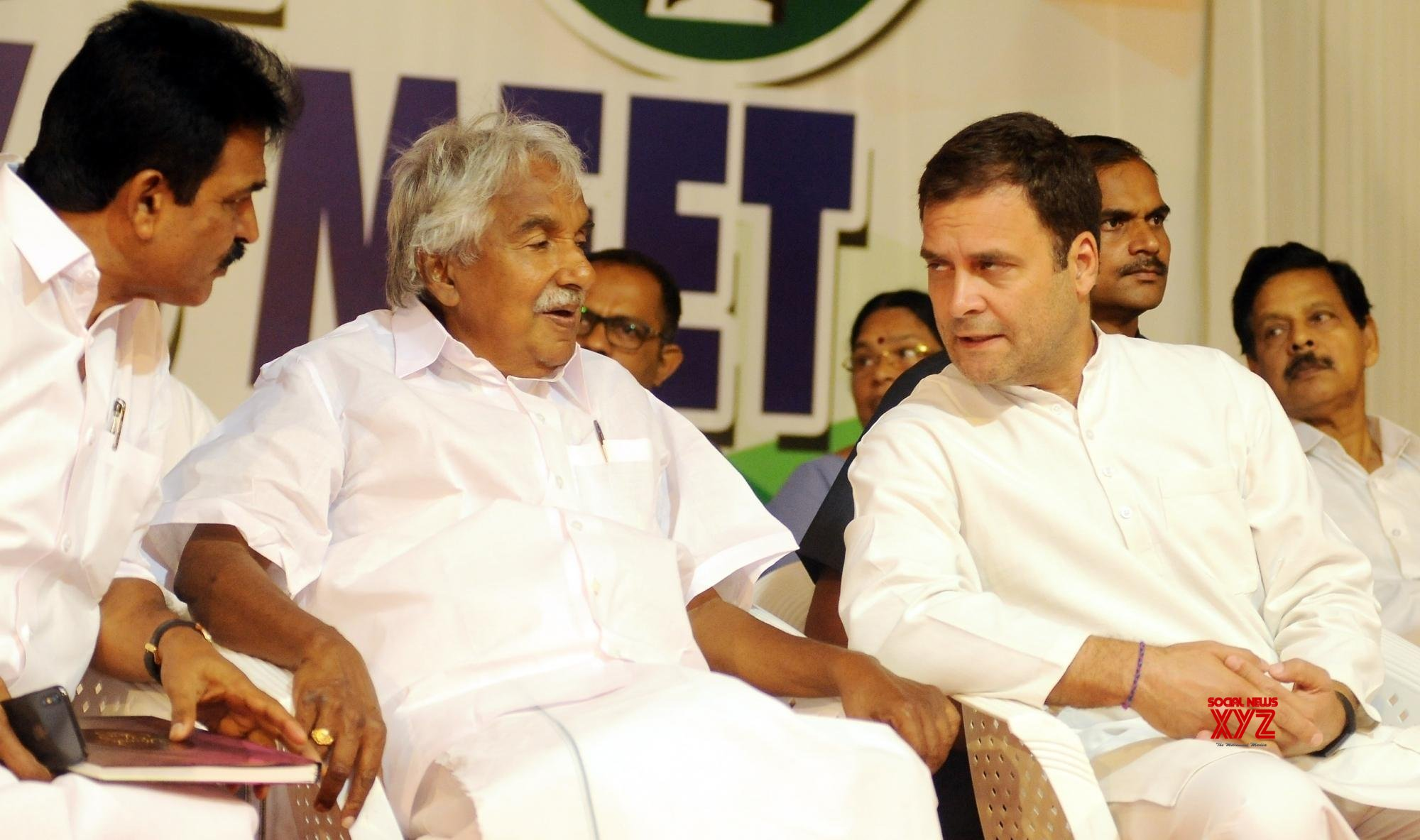 Kannur: Rahul Gandhi at a coordination meeting in Kerala (Batch - 2) #Gallery