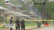 Man kills neighbor, sets house ablaze, then dies  (Video)