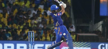 Chennai: Mumbai Indians' skipper Rohit Sharma in action during the 44th match of IPL 2019 between Mumbai Indians and Chennai Super Kings at MA Chidambaram Stadium in Chennai, on April 26, 2019. (Photo: IANS)