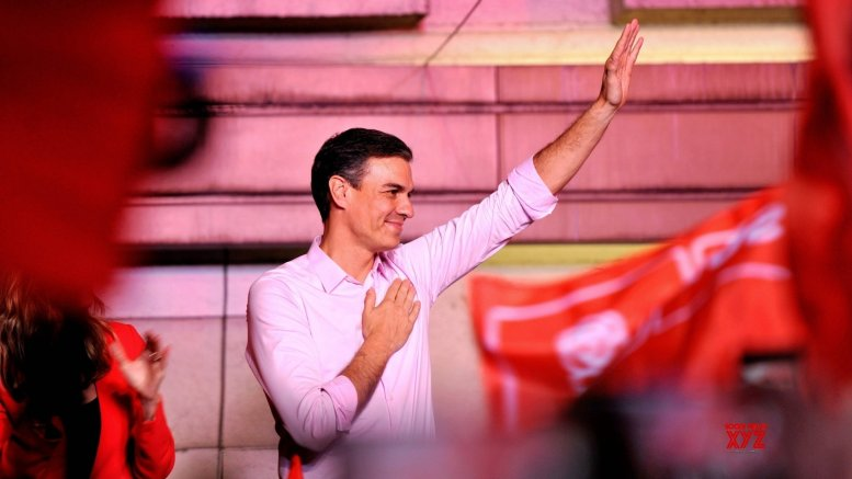 Ruling Socialists lead Spain general election