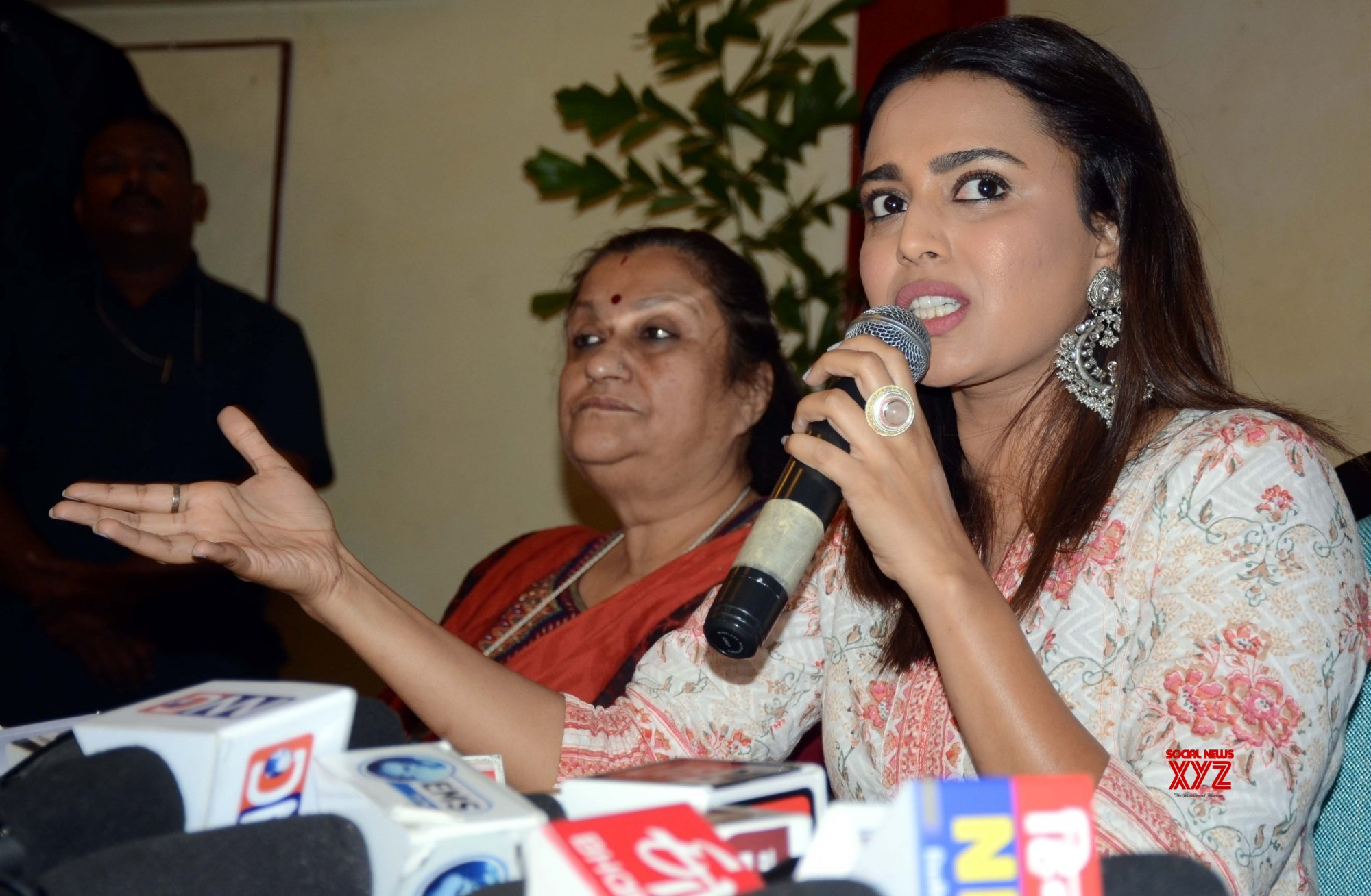 Bhopal: Swara Bhaskar's Press Conference #Gallery