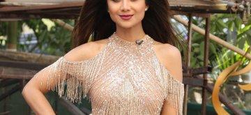 "Mumbai: Actress Shilpa Shetty on the sets of dance reality show ""Super Dancer 3"", in Mumbai, on May 13, 2019. (Photo: IANS)"