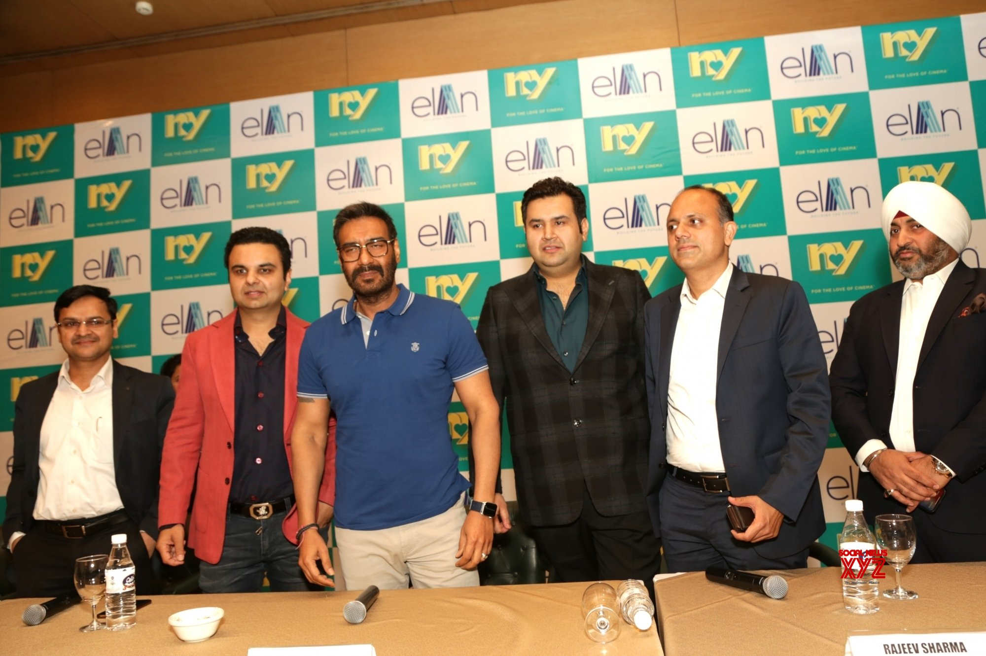 New Delhi: Ajay Devgn's press conference #Gallery
