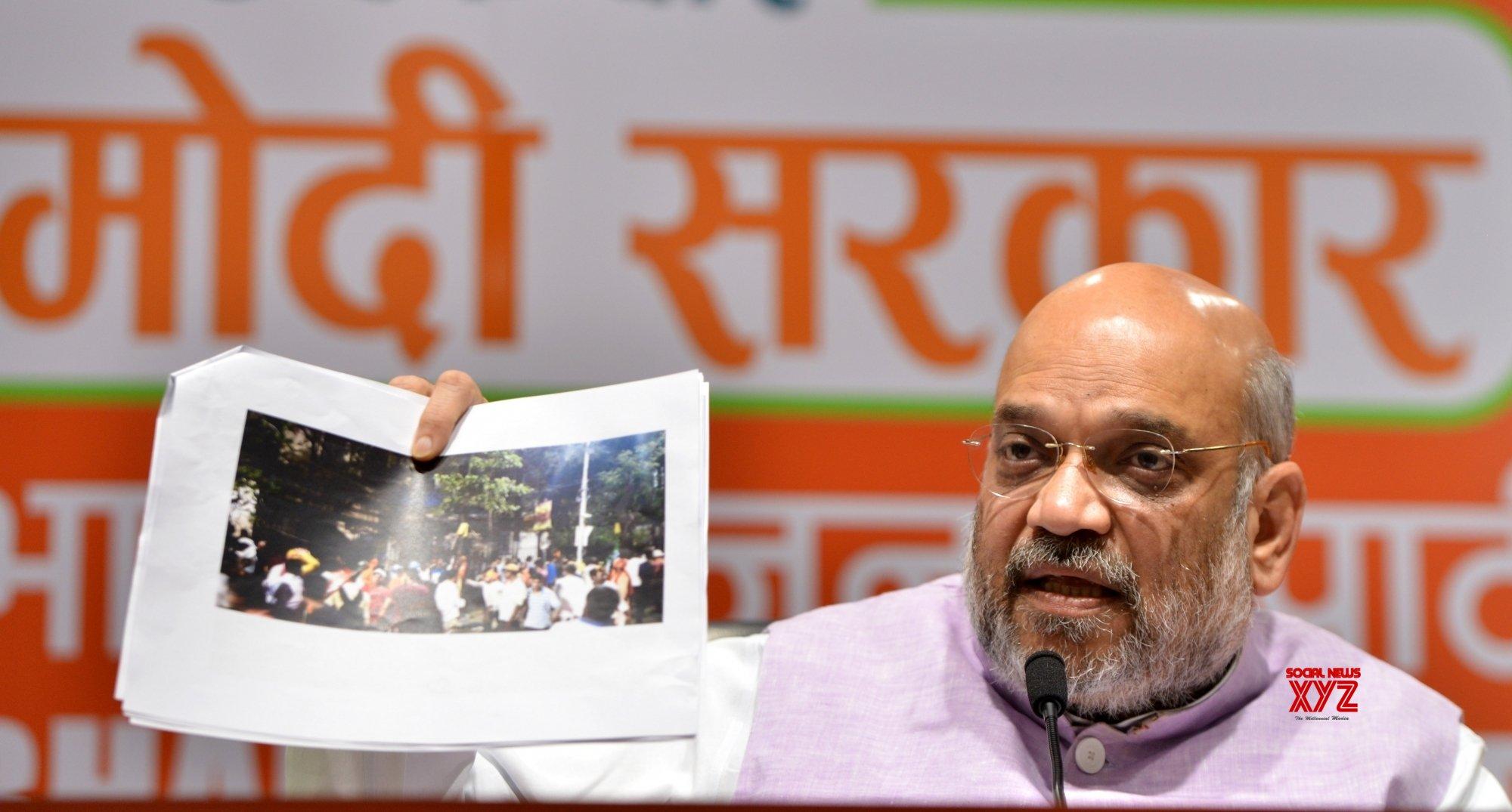 TMC blamed BJP for Kolkata violence, dubs Amit Shah 'liar'