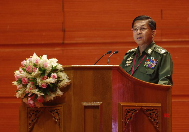 Myanmar Army chief's Twitter account suspended