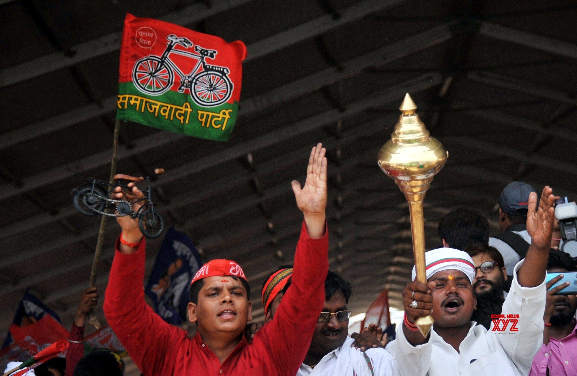 Varanasi: SP, BSP rally #Gallery