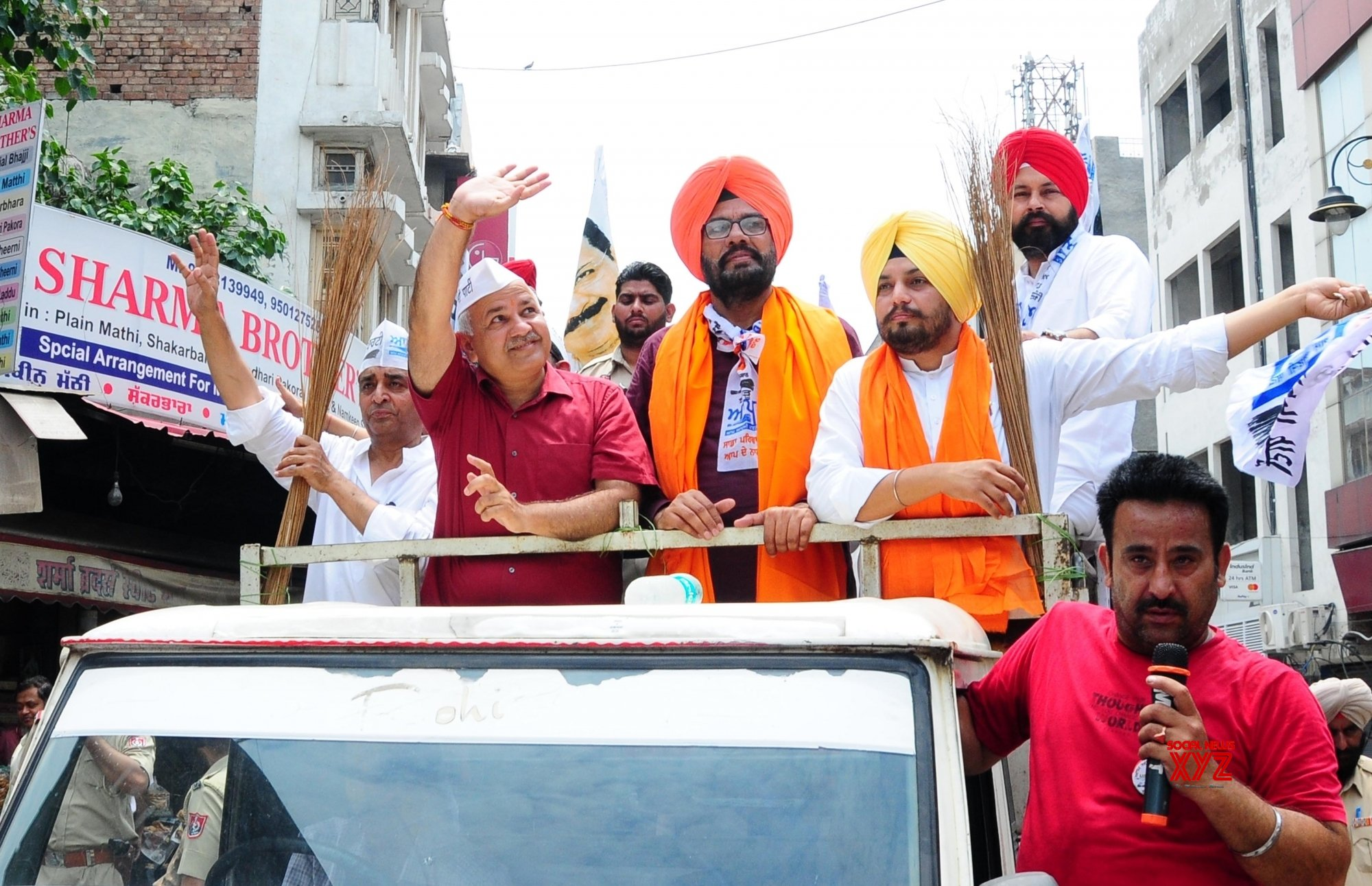 Amritsar: 2019 LS polls: Manish Sisodia campaigns for AAP's Kuldeep Singh Dhaliwal (Batch - 2) #Gallery